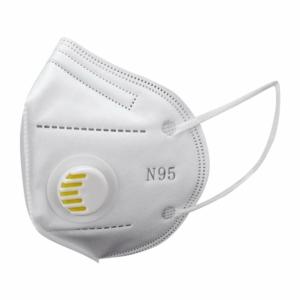 FFP2 szelepes maszk (fehér) - 1 db