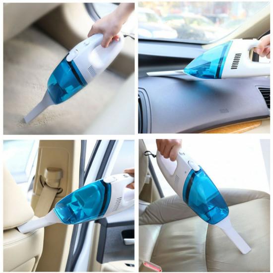 Autós szivargyújtós kézi porszívó
