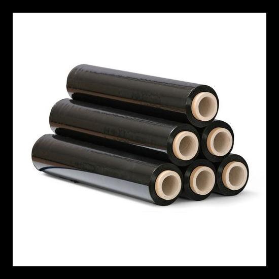 Fekete sztreccsfólia kb 300m, 500mm széles