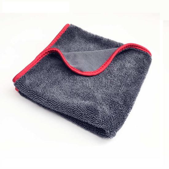 Kétoldalú, mikroszálas törlőkendő piros