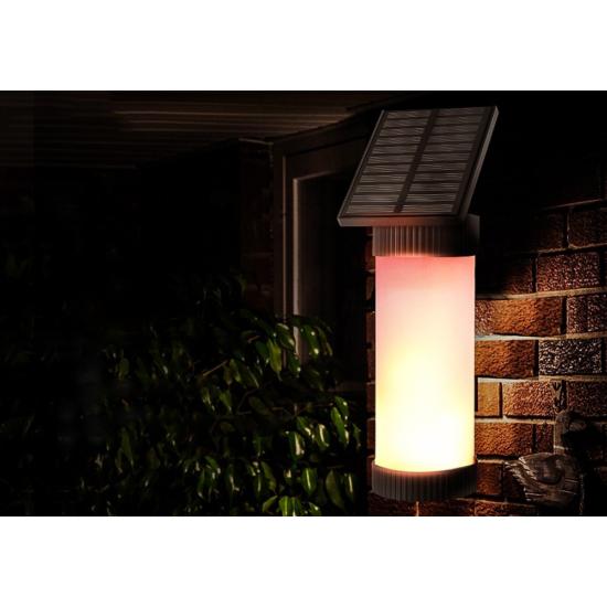 Vezeték nélküli napelemes 100 LED-es kerti lámpa