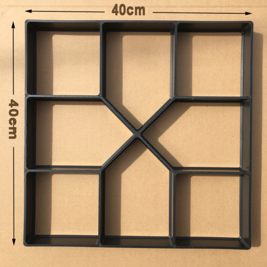 Térkő sablon 40x40 cm