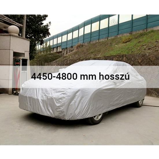 4 évszakos, teljes autótakaró ponyva 4450-4800 mm hosszú
