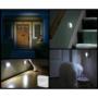 Kép 2/7 - Mozgásérzékelős lámpa, LED lámpa, kültéri és beltéri fali lámpa