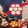 Kép 1/10 - Szilikon tojás- és palacsintasütő forma