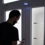 Kép 2/8 - Mozgásérzékelő lámpa, LED relflektor, fali lámpa