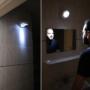 Kép 5/8 - Mozgásérzékelő lámpa, LED relflektor, fali lámpa