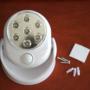Kép 6/8 - Mozgásérzékelő lámpa, LED relflektor, fali lámpa