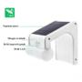 Kép 3/9 - 38 LED-es napelemes elegáns kültéri mozgásérzékelős fali lámpa távirányítóval