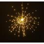 Kép 2/7 - 200 LED-es napelemes tűzijáték hatású dekoráció