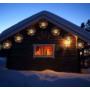 Kép 7/7 - 200 LED-es napelemes tűzijáték hatású dekoráció
