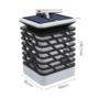Kép 5/11 - 75 LED-es tűzhatású felakasztható napelemes kerti lámpa