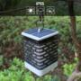 Kép 10/11 - 75 LED-es tűzhatású felakasztható napelemes kerti lámpa