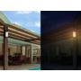 Kép 5/5 - Vezeték nélküli napelemes 100 LED-es kerti lámpa