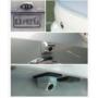 Kép 3/6 - Befúrható tolatókamera vízálló ezüst színben