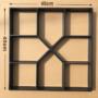 Kép 1/4 - Térkő sablon 40x40 cm