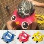 Kép 1/2 - Hajmosó sapka gyerekeknek, Állítható méretű biztonságos fürdőszobai szemvédő sapka kék