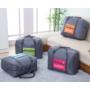 Kép 2/4 - Kézipoggyász méretű, összehajtható táska rózsaszín